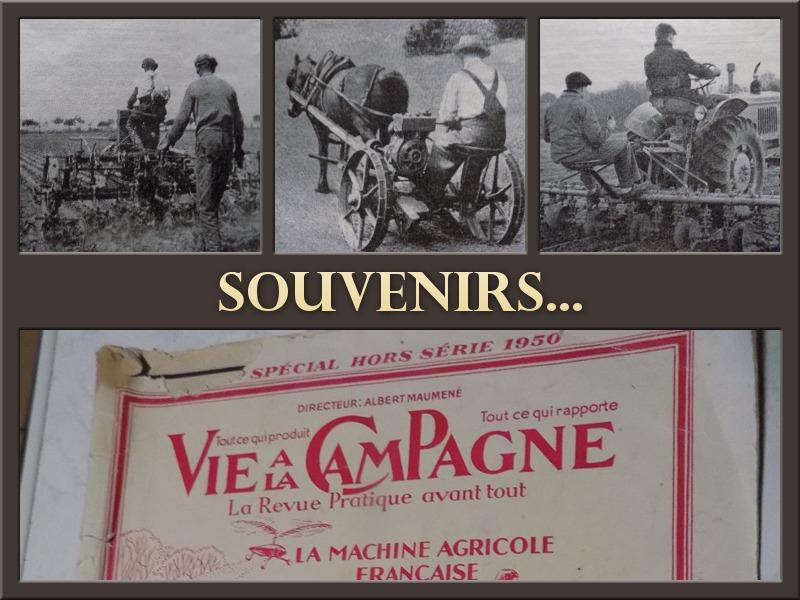 L'agriculture...d'hier et d'aujourd'hui!