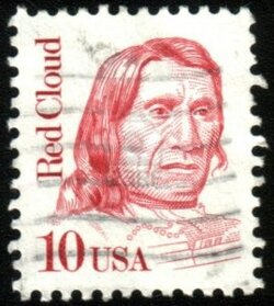 Red Cloud - chef des indiens Sioux oglalas - USA