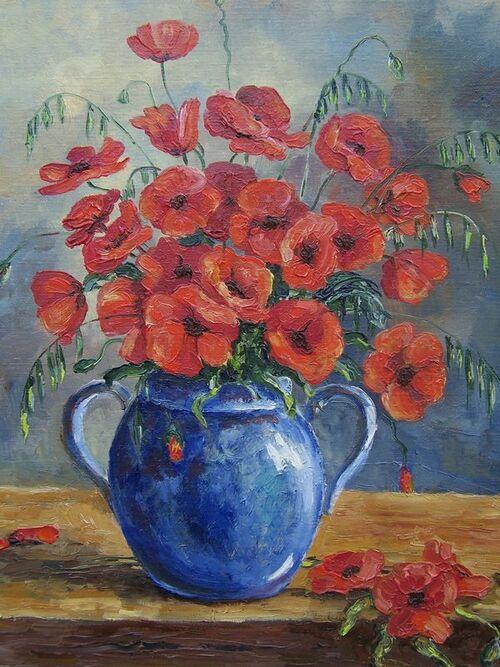 Peinture de : Annie Rivière