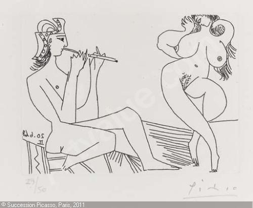 """Résultat de recherche d'images pour """"picasso flutiste"""""""