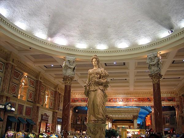 Las Vegas Caesars Palace intérieur