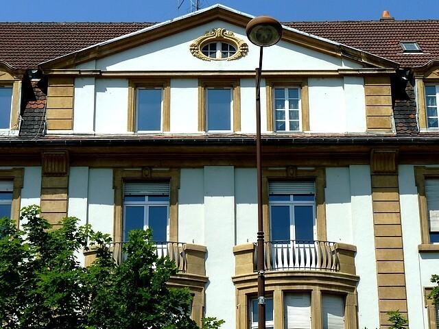 Les frontons de Metz 59 Marc de Metz 2012