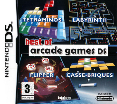 Best of Arcade Games DS (EU)(M7)