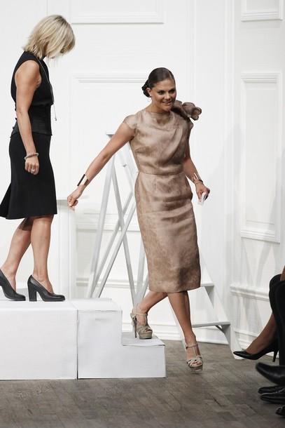 Victoria à la semaine de la mode