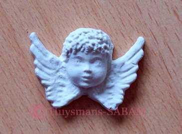 ange en plâtre réalisé dans un moule souple - Arts et sculpture: sculpteur infographiste