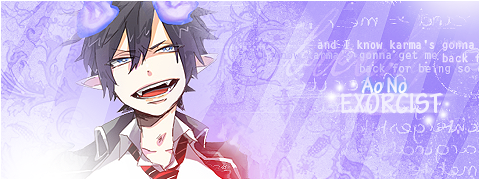 Signature [Ao No Exorcist]