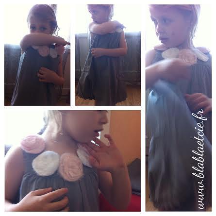 La jolie robe de cérémonie de Minipuce de chez 3 Pommes