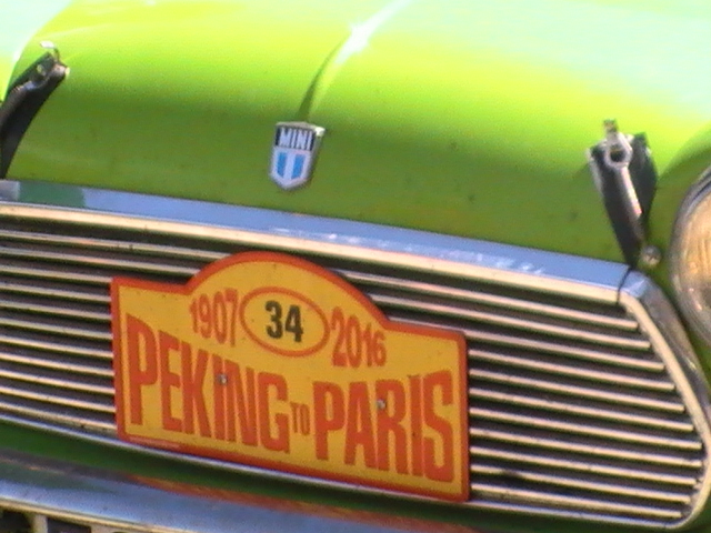 PEKIN  -  PARIS  2016  Via  ECLANCE  (AUBE)