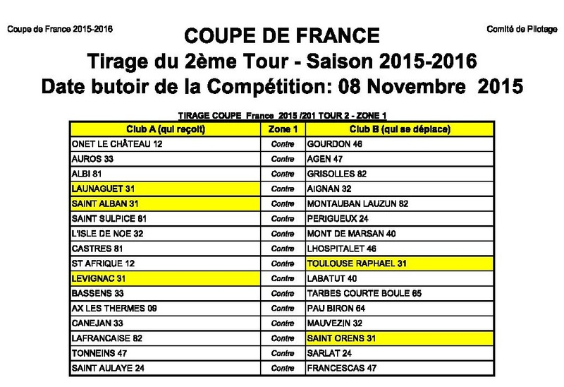 Coupe de France 2 ieme tour de Zone