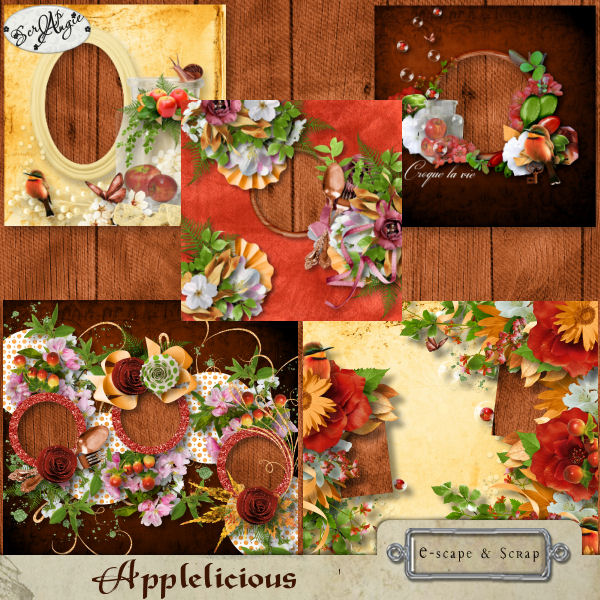 """Applelicious"" by Scrap'Angie"