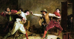 Les actes violents au Moyen Age