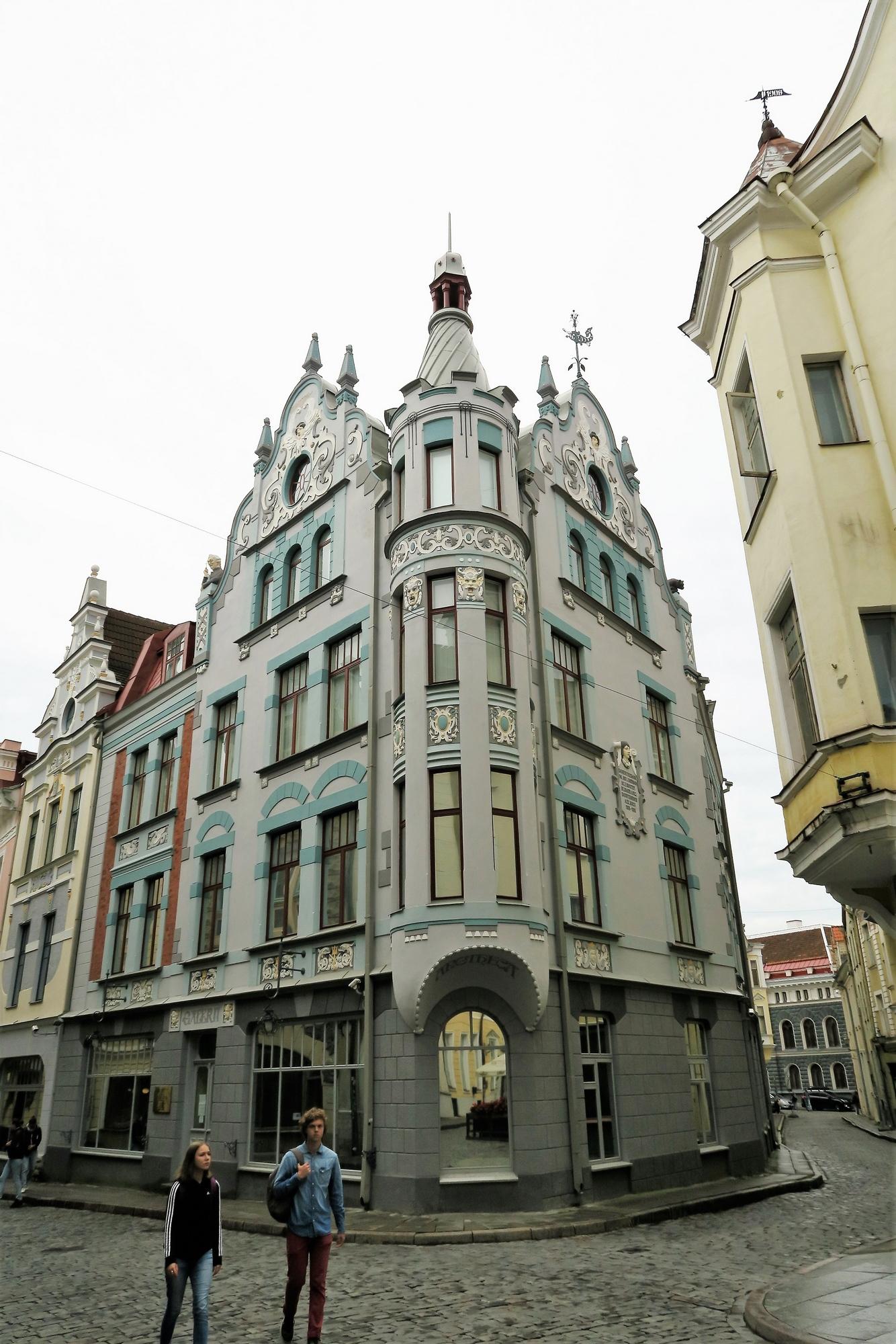 TALLINN (EST) [1] Demeure Art Nouveau