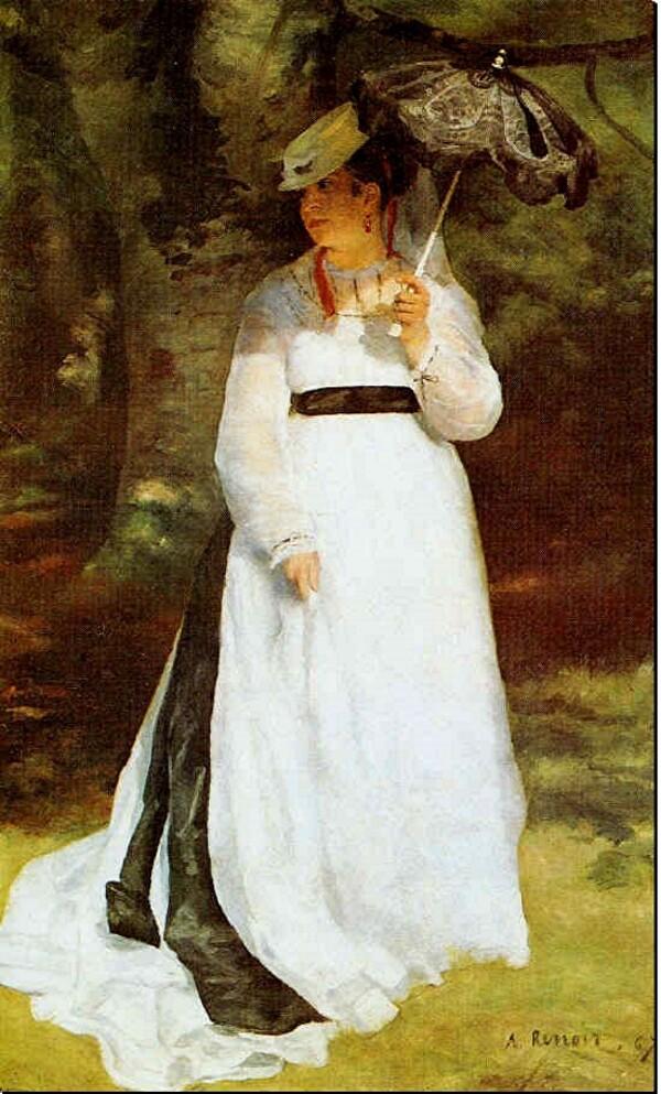 Renoir  / 2 / du  plein air au portrait .