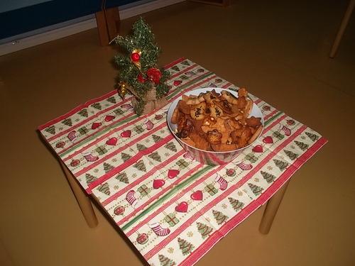 La fête de Noël vendredi matin
