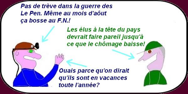 la guerre des Le Pen