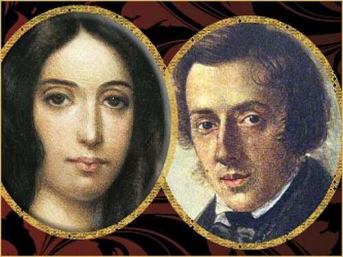 1er juillet 18   : naissance de George Sand