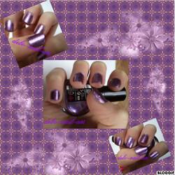 Vernis à ongles scintillant:)