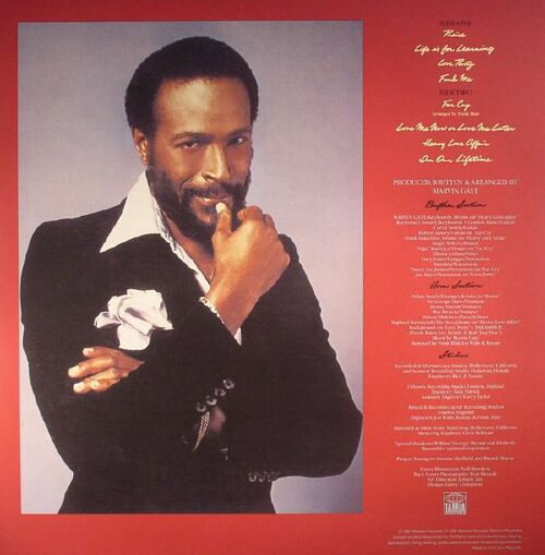 """Marvin Gaye : Album """" In Our Lifetime """" Tamla Records T8-374M1 [ US ]"""