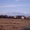 marrakech - la montagne et le douar  vus du camping -2-