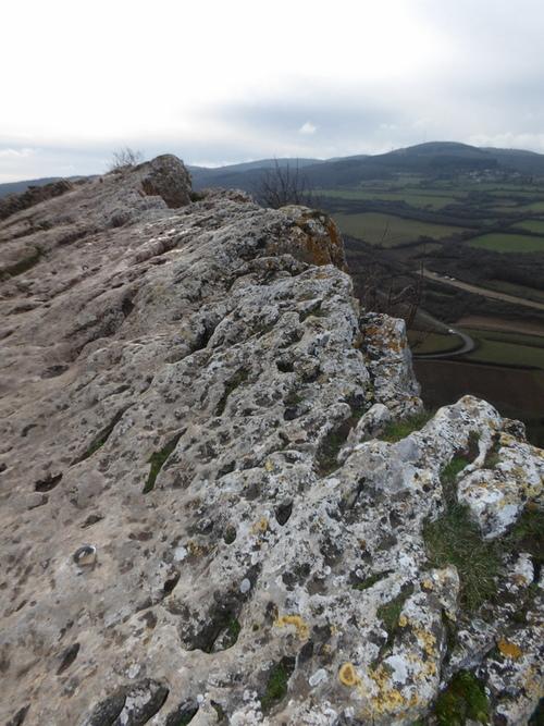 Les roches de Solutré et de Vergisson