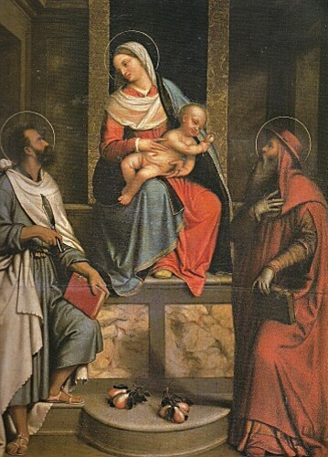 Vierge à l'Enfant avec St Jérôme et St Barthélemy dite