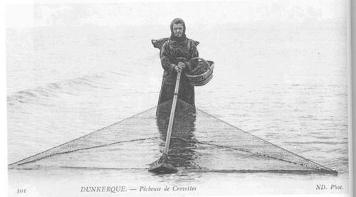 La pêche a la crevette au XVII et XIXèmes siècles
