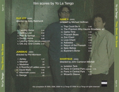 Yo La Tengo : Prolongations... They shoot, we score (2008)