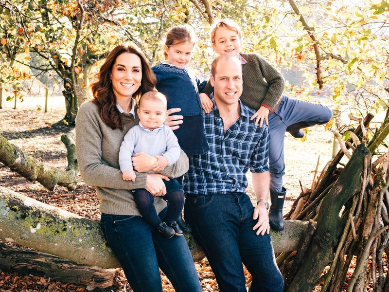 Carte de voeux 2019 de William et Kate