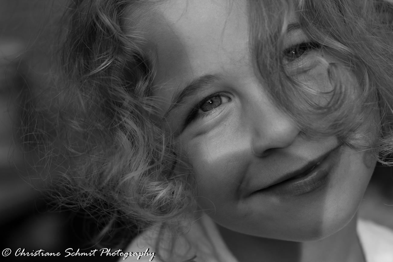 Portrait d'un sourire