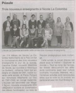 ouest france 8-9 septembre 2012