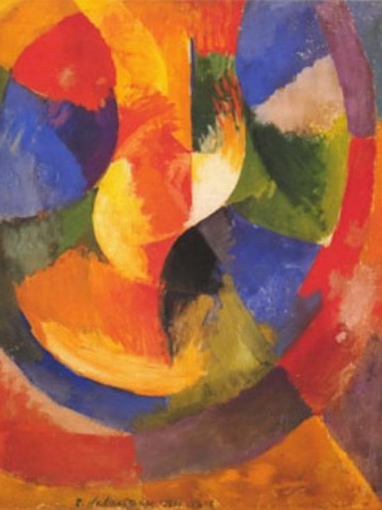 Robert Delaunay, Formes circulaires, soleil n°3, 1912-1913