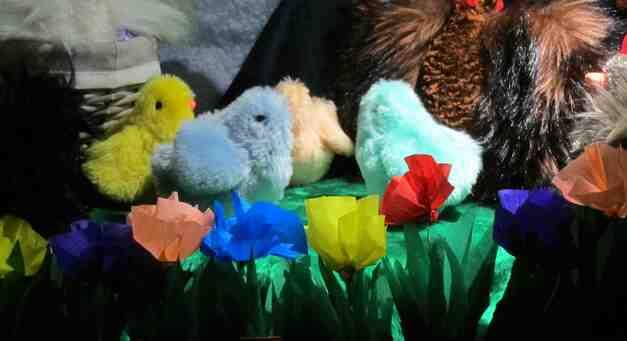 6 Avril : la vitrine de Pâques