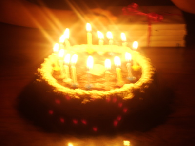 Blog de charlottopoire : Mes petites créas, Gateau d'anniversaire au chocolat