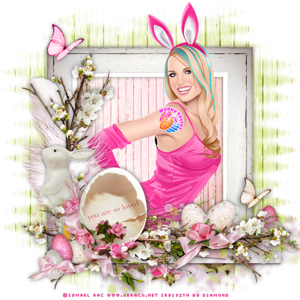 "Tutoriel ""Shabby Easter"" de Chrisje"