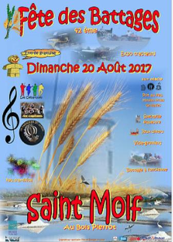 DIMANCHE 20 AOÛT 2017: LES DÉBARQUÉS A SAINT MOLF