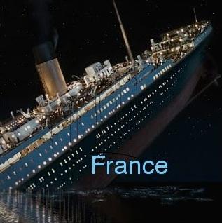 Nous sommes le Titanic et l'iceberg n'est pas loin ...