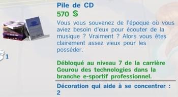 pile CD