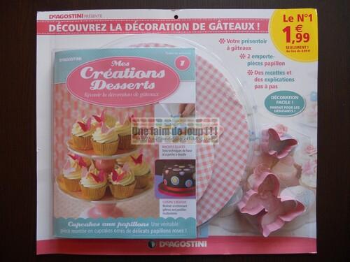 N° 1 Mes créations desserts - Test - DeAgostini - Mars 2012