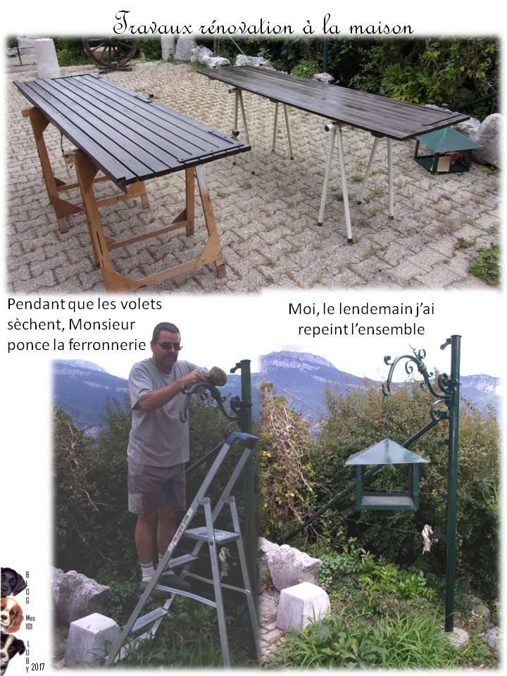 Travaux rénovation à la maison