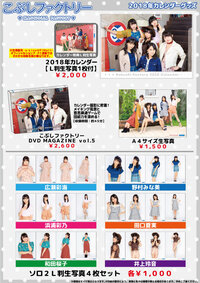 "Goodies de la tournée ""Kobushi Factory Live Tour 2017 Aki ~Songs for You~ """