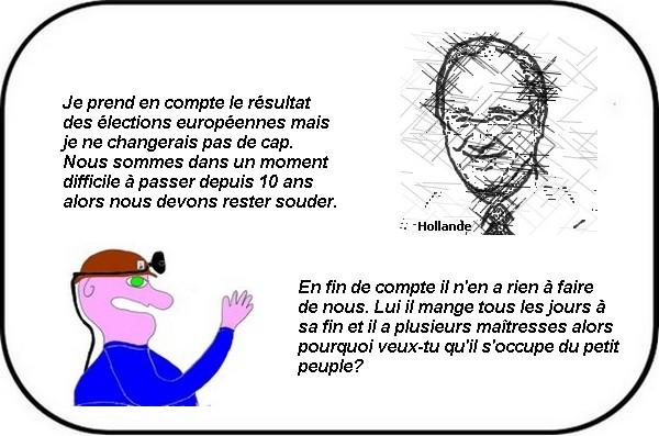 Hollande ne change pas de cap! J'y suis et j'y reste contre vents et marées!