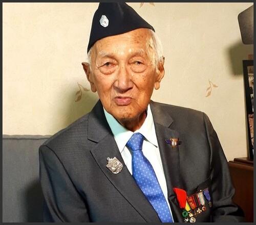 * Le dernier survivant calédonien du Bataillon d'Infanterie de Marine du Pacifique nous a quitté - Décès de Louis Kasni Warti