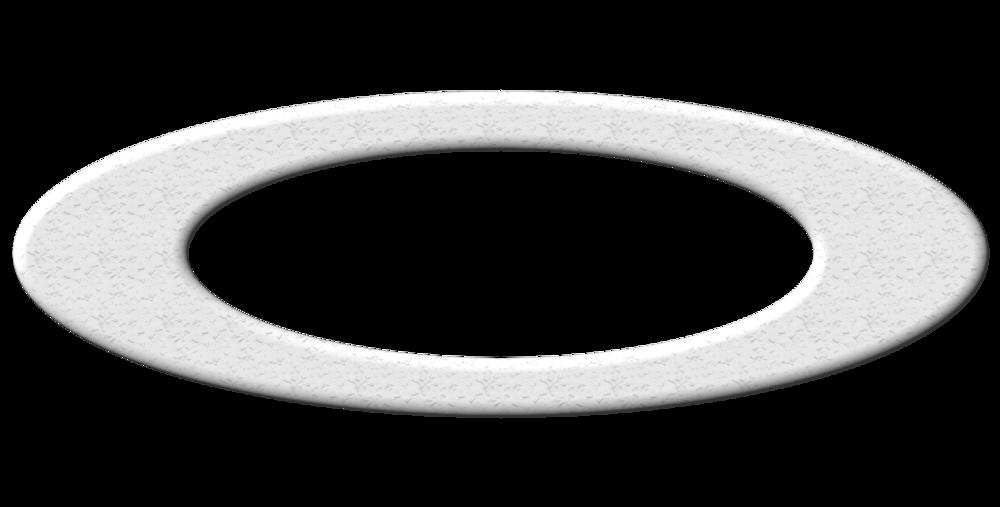 Grands cadres blanc crème