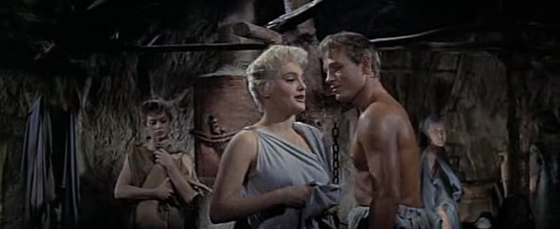 BRIGITTE BARDOT - HELENE DE TROIE -1956