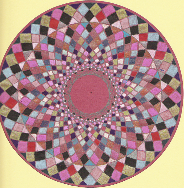 Blog de mimipalitaf : mimimickeydumont : mes mandalas au compas, ,une belle vidéo sur Peia qui continue son voyage et ses rencontres,