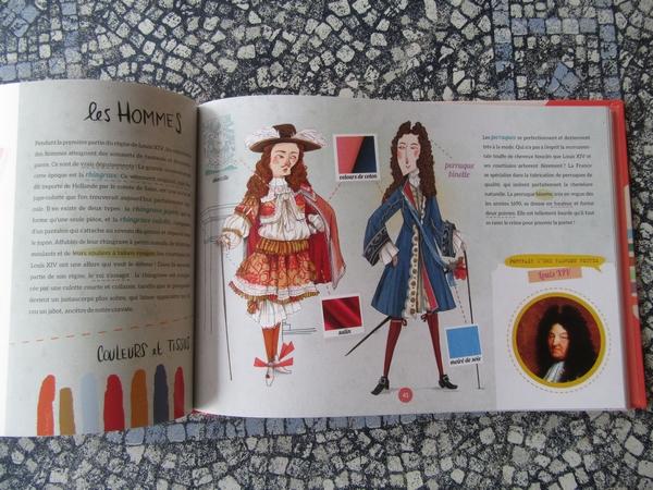 Lucie Hoornaert a dédicacé son charmant livre sur l'Histoire du costume....