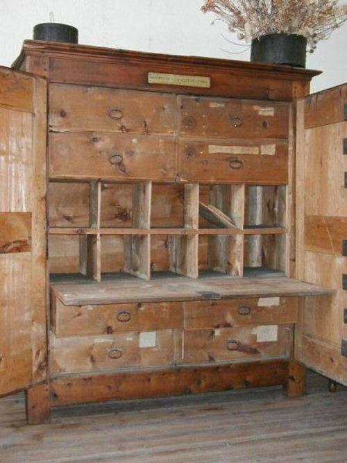 L'armoire aux huit serrures ....