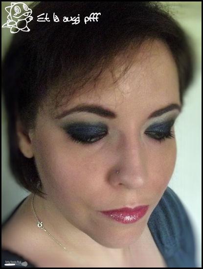 Maquillage autour d'une galaxie