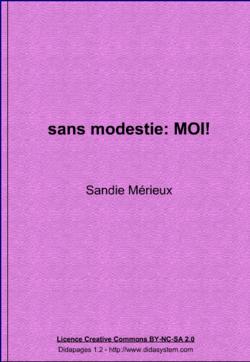 Se présenter par Sandie Mérieux