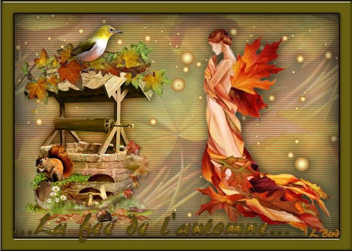 Fée Capucine ... l'automne